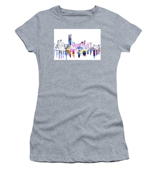 Miami Skyline Women's T-Shirt (Junior Cut) by Doc Braham
