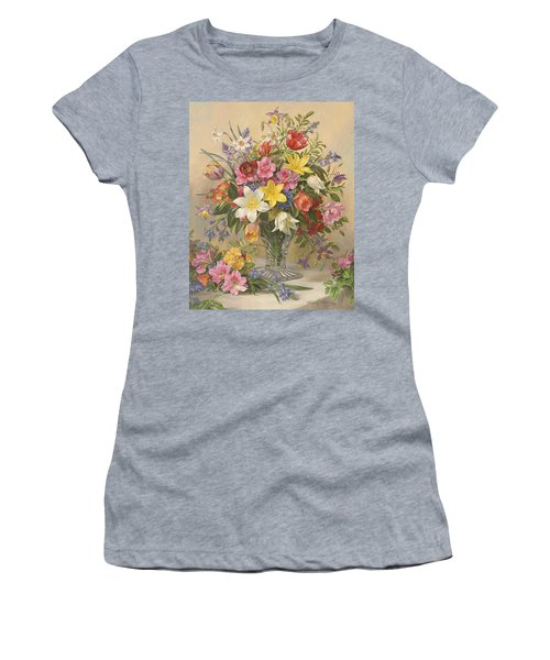 Mid Spring Glory Women's T-Shirt (Athletic Fit)