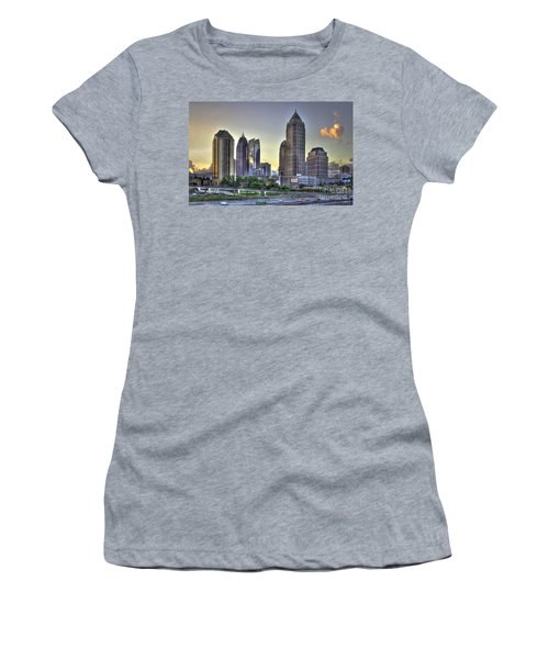 Midtown Atlanta Sunrise Women's T-Shirt (Athletic Fit)