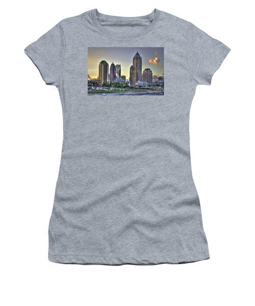 Midtown Atlanta Sunrise Women's T-Shirt (Junior Cut) by Reid Callaway