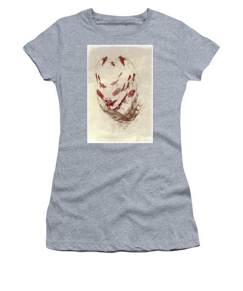Mini Mum Art Bouquet Women's T-Shirt (Athletic Fit)