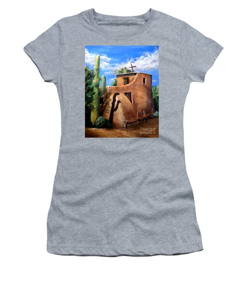Mission In The Sun Women's T-Shirt (Athletic Fit)