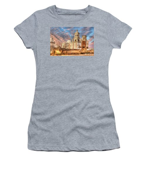 Mission San Xavier Del Bac 2 Women's T-Shirt (Athletic Fit)