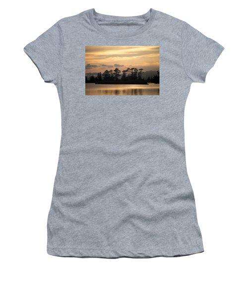 Misty Island Of Assawoman Bay Women's T-Shirt