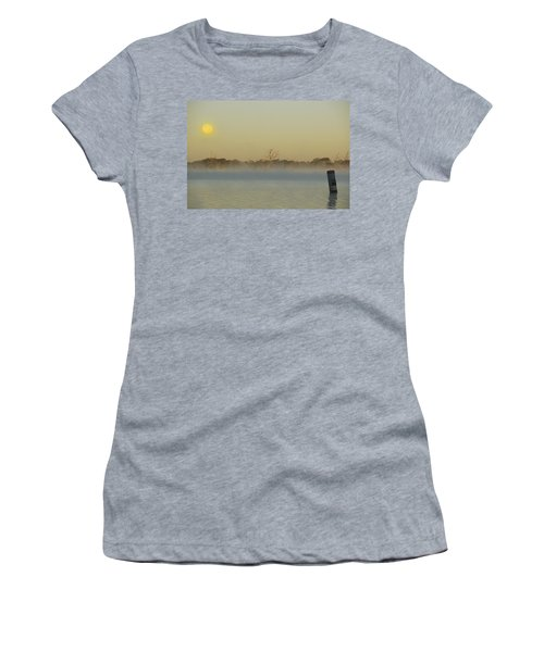 Misty Lake Women's T-Shirt (Athletic Fit)