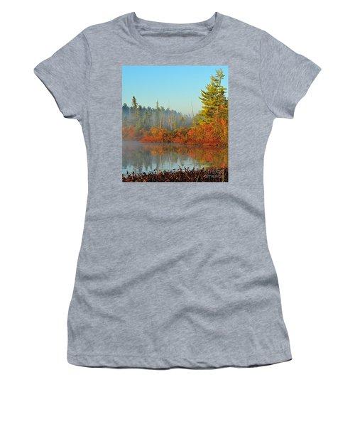 Misty Marsh Women's T-Shirt (Athletic Fit)