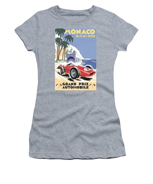 Monaco Grand Prix 1958 Women's T-Shirt
