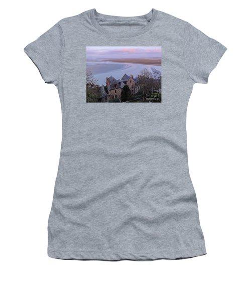 Mont St Michel Tower View Women's T-Shirt