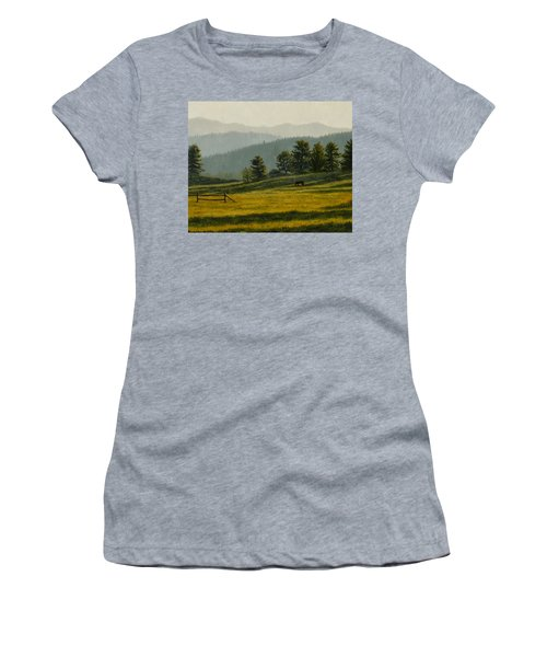 Montana Morning Women's T-Shirt