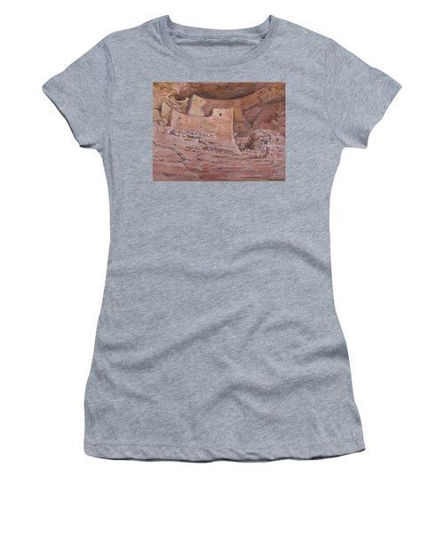 Montezumas Castle Women's T-Shirt (Athletic Fit)