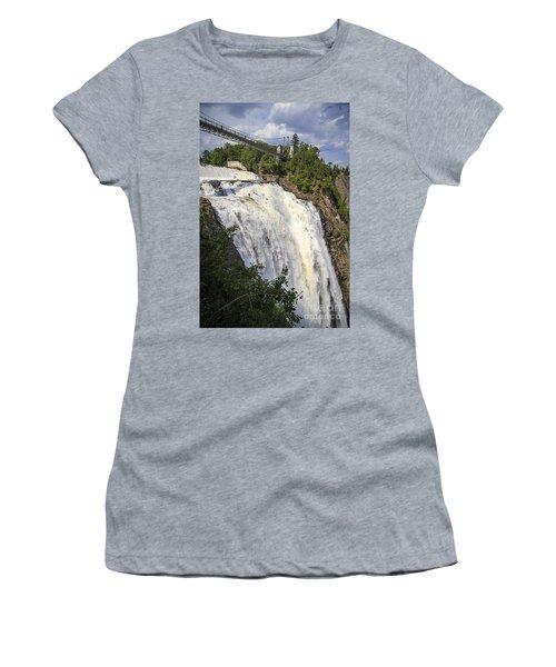 Montmorency Falls Park Quebec City Canada Women's T-Shirt