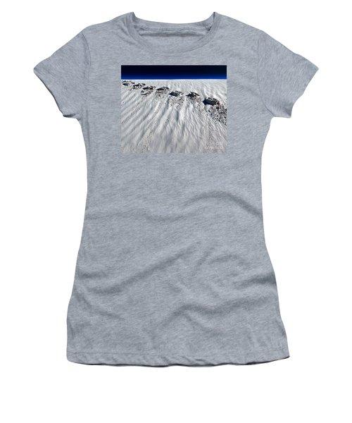 Moonwalking Women's T-Shirt (Athletic Fit)