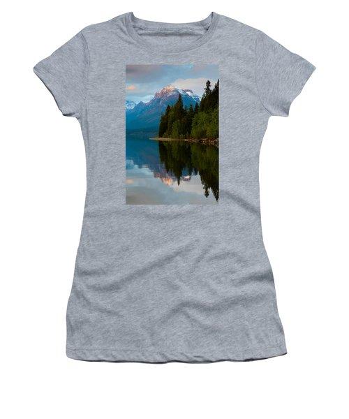 Mount Cannon Women's T-Shirt (Junior Cut) by Aaron Aldrich