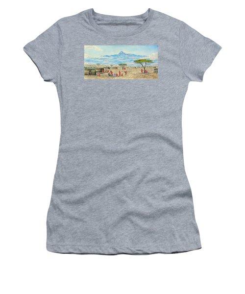 Mountain Village Women's T-Shirt