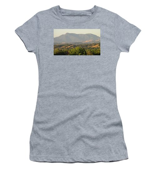 Women's T-Shirt (Junior Cut) featuring the photograph Mt. Cali by Shawn Marlow