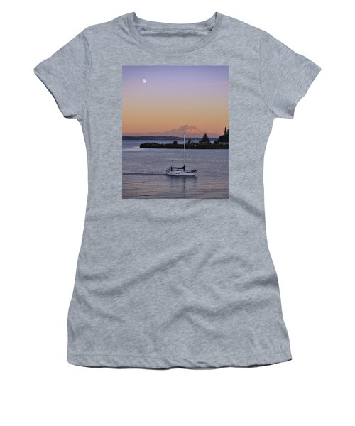 Mt. Rainier Afterglow Women's T-Shirt