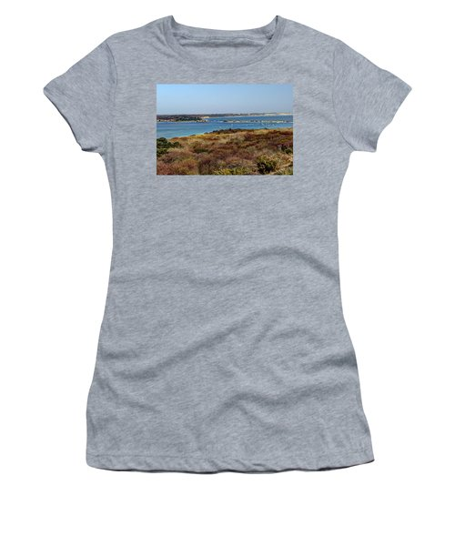 Mudeford Harbour Women's T-Shirt (Athletic Fit)