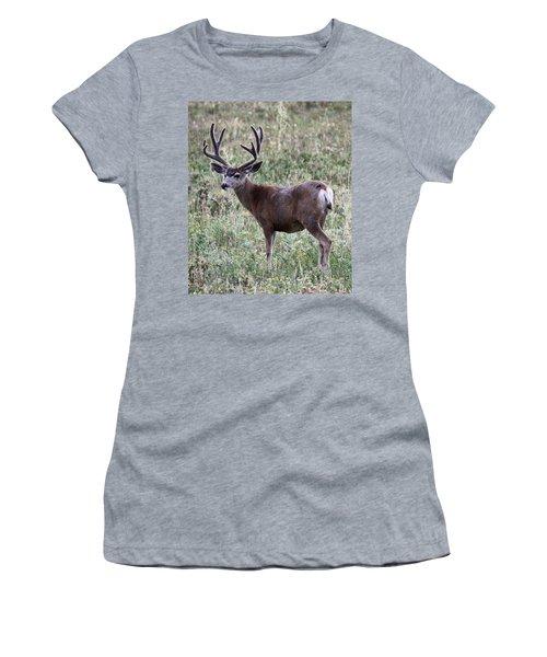 Muley Buck Women's T-Shirt (Athletic Fit)