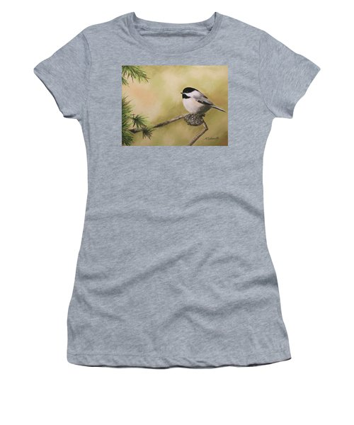 My Little Chickadee Women's T-Shirt (Athletic Fit)