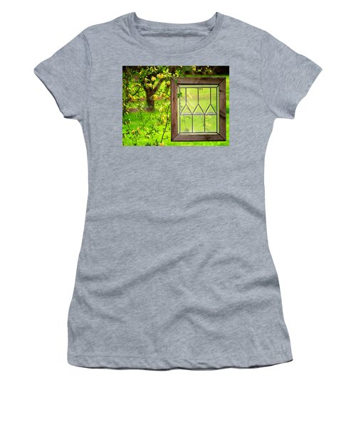 Nature's Window Women's T-Shirt (Athletic Fit)