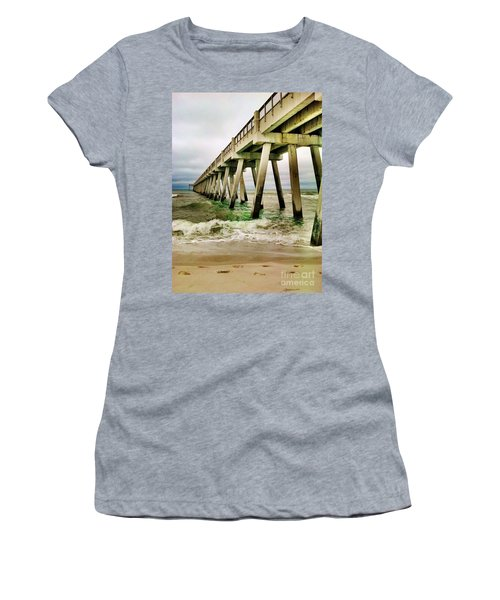Navarre Pier Women's T-Shirt (Athletic Fit)