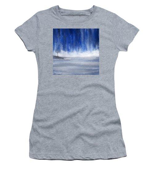 Navy Blue Art Women's T-Shirt