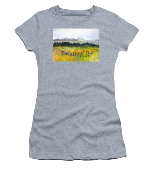 Nek Mountains And Meadows Women's T-Shirt