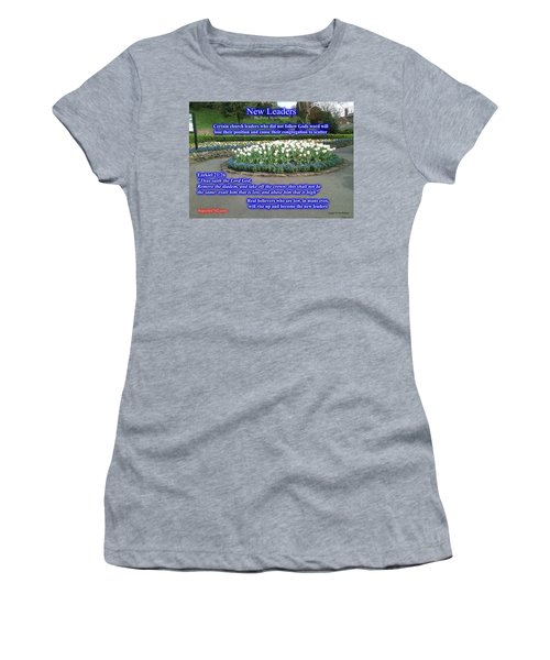 New Leaders Women's T-Shirt (Athletic Fit)