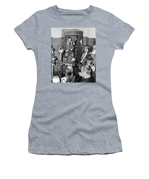 New Site For Clay-liston Fight Women's T-Shirt