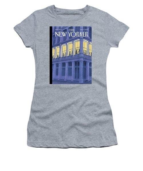New Yorker April 13th, 2009 Women's T-Shirt