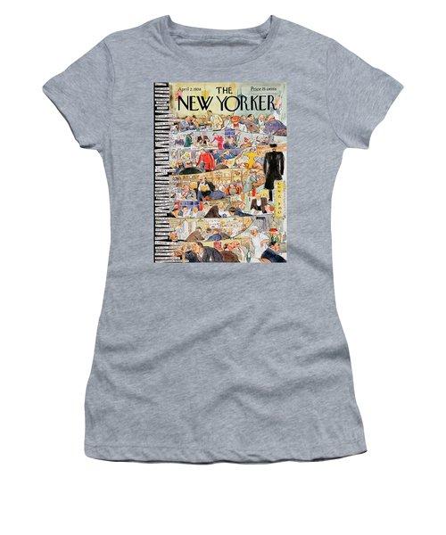 New Yorker April 2 1938 Women's T-Shirt