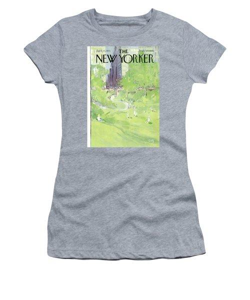 New Yorker April 24th, 1971 Women's T-Shirt