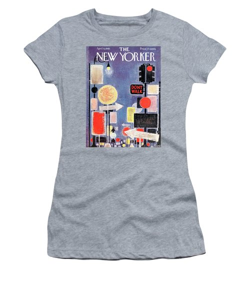 New Yorker April 8th, 1961 Women's T-Shirt