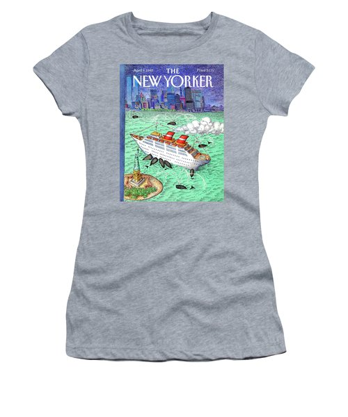 New Yorker April 9th, 1990 Women's T-Shirt