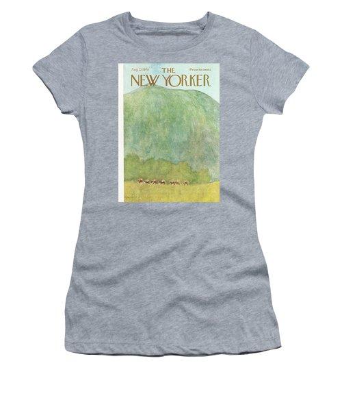 New Yorker August 22nd, 1970 Women's T-Shirt