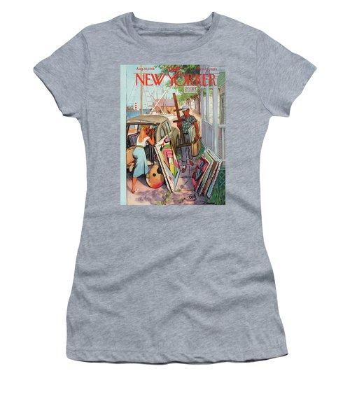 New Yorker August 30th, 1958 Women's T-Shirt