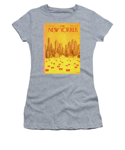 New Yorker February 18th, 1974 Women's T-Shirt