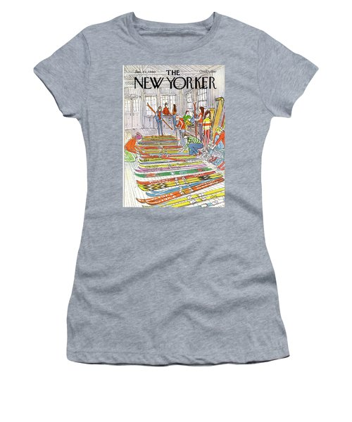 New Yorker January 21st, 1980 Women's T-Shirt