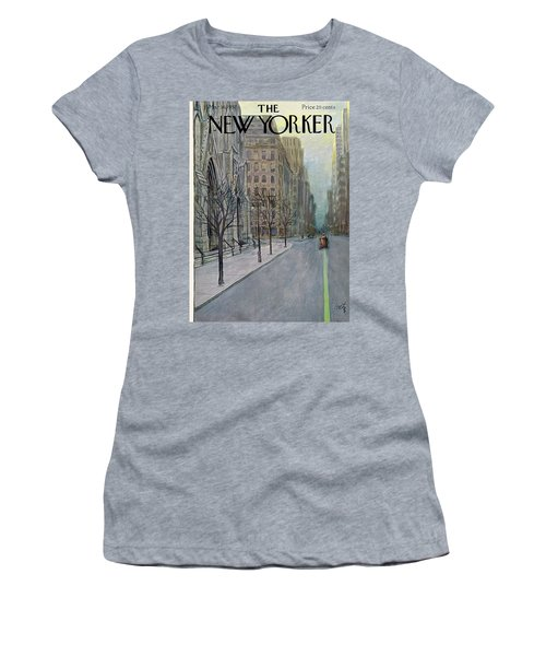 New Yorker March 16th, 1957 Women's T-Shirt