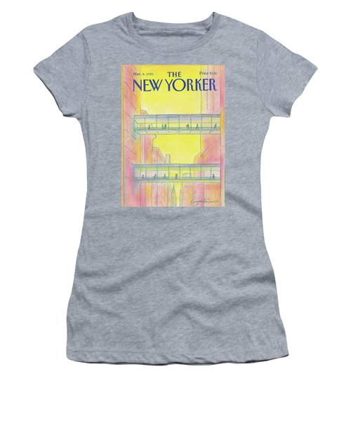 New Yorker March 4th, 1985 Women's T-Shirt