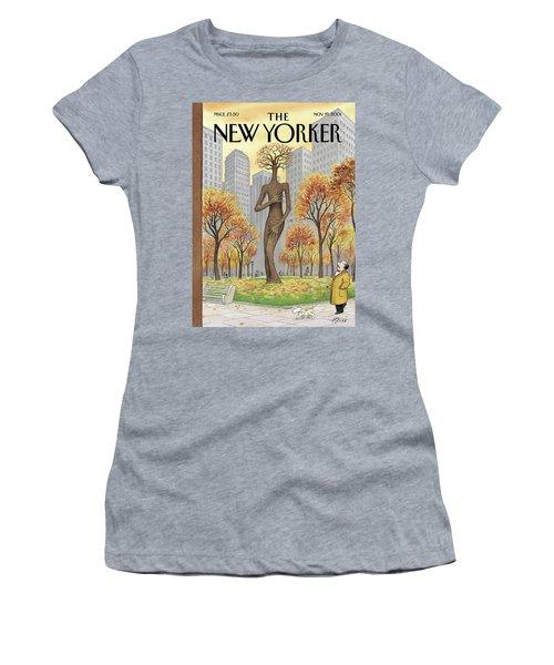 New Yorker November 19th, 2001 Women's T-Shirt