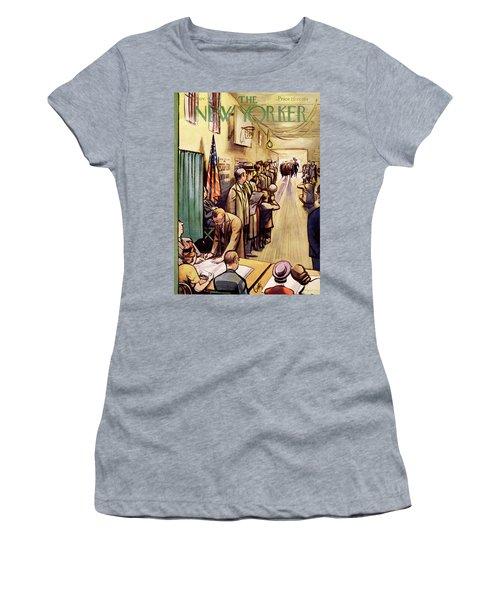 New Yorker November 4th, 1950 Women's T-Shirt