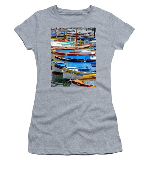 Nice Boats  Women's T-Shirt (Athletic Fit)