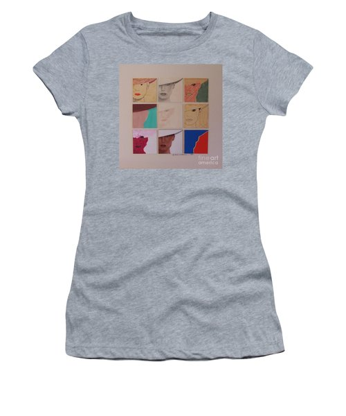 Nine Ladies Lolling Women's T-Shirt (Athletic Fit)