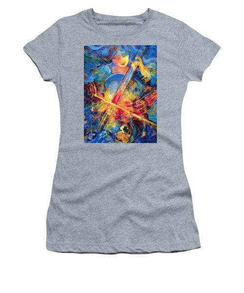 No Blue Notes Women's T-Shirt (Athletic Fit)