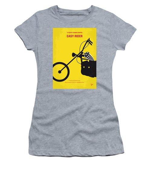 No333 My Easy Rider Minimal Movie Poster Women's T-Shirt
