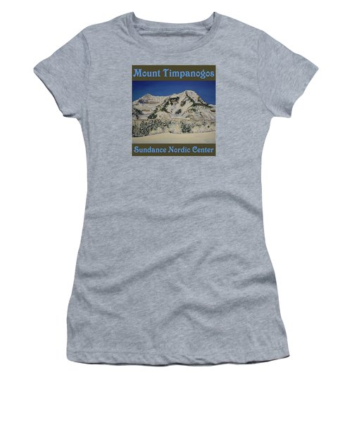 Nordic Timpanogos Poster Women's T-Shirt (Athletic Fit)