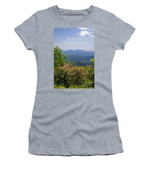 North Carolina Mountains Women's T-Shirt (Athletic Fit)