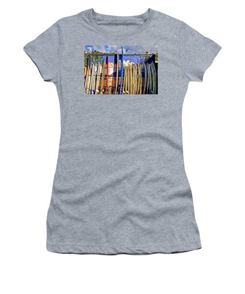 North Shore Surf Shop Women's T-Shirt (Athletic Fit)