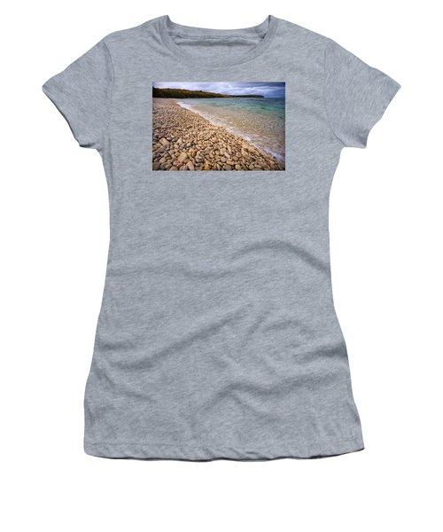 Northern Shores Women's T-Shirt (Junior Cut) by Adam Romanowicz